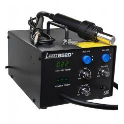 Термовоздушная паяльная станция Lukey 852D+ с паяльником