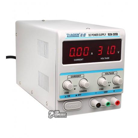 Лабораторный блок питания Zhaoxin RXN-305D цифровой (0-30 В; 0-5 А)