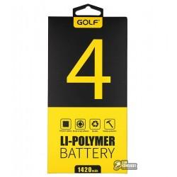Аккумулятор(акб)GolfдляiPhone4(Li-polymer,1560мАч)