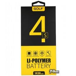Аккумулятор(акб)GolfдляiPhone4s(Li-polymer,1250мАч)
