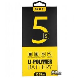 Аккумулятор(акб)GolfдляiPhone5s(Li-polymer,1560мАч)