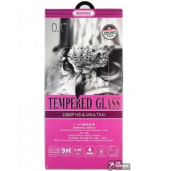 Закаленное защитное стекло + пленка на заднюю панель, Remax для Apple iPhone 7 Plus, iPhone 7S Plus, 0,1 мм 9H