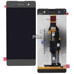 Дисплей для Sony F3112 Xperia XA Dual, F3116 Xperia XA Dual, серый, с сенсорным экраном (дисплейный модуль),original (PRC)