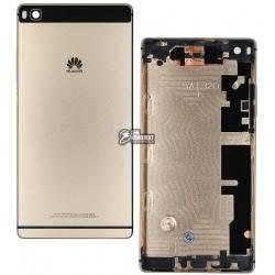 Задняя панель корпуса для Huawei P8 (GRA L09), золотистая