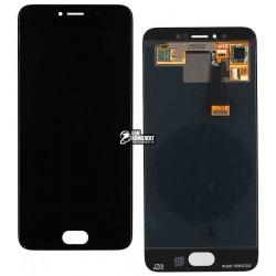 Дисплей для Meizu Pro 6, черный, с сенсорным экраном, original (PRC)