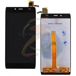 Дисплей для Alcatel One Touch 6032X Idol Alpha Slate, черный, с сенсорным экраном (дисплейный модуль)