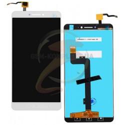 Дисплей для Xiaomi Mi Max, белый, с сенсорным экраном (дисплейный модуль)