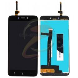 Дисплей Xiaomi Redmi 4X, черный, с сенсорным экраном (дисплейный модуль), Original (PRC)
