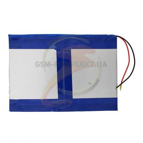Аккумулятор универсальный (акб), для телефона, планшета, GPS, 100 мм, 140 мм, 4,0 мм, Li-ion, 7.4 В, 3200 мАч