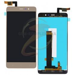 Дисплей для Xiaomi Redmi Note 3i Pro SE, золотистый, с сенсорным экраном, original (PRC), 149.5*73 mm