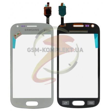 Тачскрин для Samsung S7582 Galaxy Trend Plus Duos, белый
