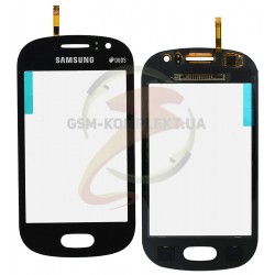 Тачскрін для Samsung S6810 Galaxy Fame, синій