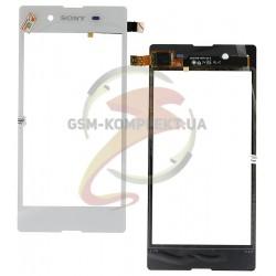 Тачскрин для Sony D2202 Xperia E3, D2203 Xperia E3, D2206 Xperia E3, белый