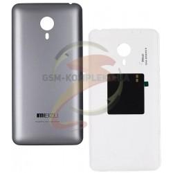 """Задняя крышка батареи для Meizu MX4 Pro 5.5"""", серебристая"""