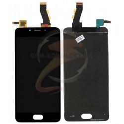 Дисплей для Meizu U10, черный, с сенсорным экраном (дисплейный модуль)