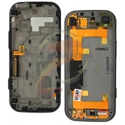 Шлейф для Nokia N97 Mini, межплатный, с камерой, с компонентами, со слайдером