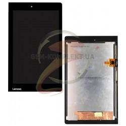 Дисплей для планшета Lenovo Yoga Tablet 3-850F, черный, с сенсорным экраном (дисплейный модуль)