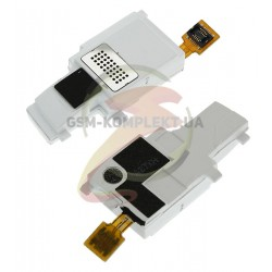 Динамик полифонический (звонок) для Samsung S5660, оригинал, в рамке, белый, (GH59-10913B)