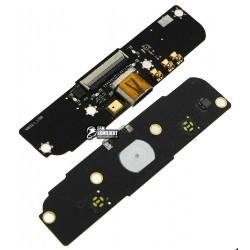 Шлейф для Meizu MX, коннектора зарядки, с компонентами