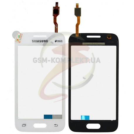 Тачскрин для Samsung G313H Galaxy Ace 4 Lite, G313HD Galaxy Ace 4 Lite Duos, белый