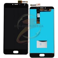 Дисплей для Meizu U20, черный, с сенсорным экраном (дисплейный модуль)