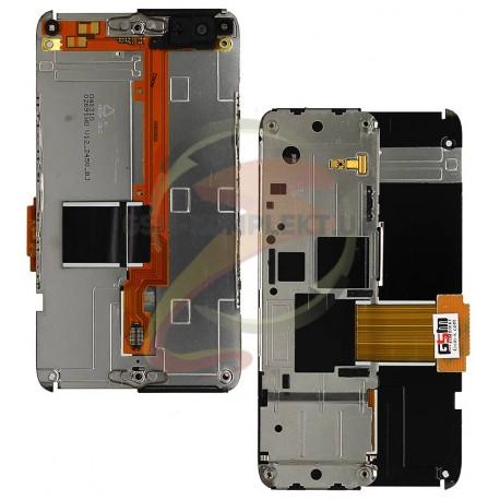 Шлейф для Nokia N900, межплатный, с камерой, с компонентами