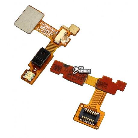 Шлейф для LG G2 D800, G2 D802, G2 D805, c датчиком приближения, с компонентами