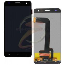 Дисплей для Nomi i504 Dream, черный, с сенсорным экраном (дисплейный модуль)