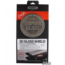 Закаленное защитное стекло Remax Caesar 3D для Iphone 7 Plus, черное