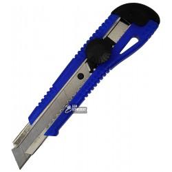Нож канцелярский 18мм Navigator 71404-NV синий