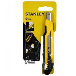 Нож канцелярский Stanley с выдвижным лезвием 9 мм