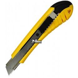 Нож канцелярский 18мм Navigator 71406-NV желтый