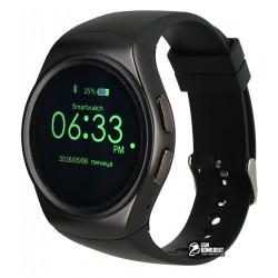 Смарт часы Smart Watch DBT-FW13, с пульсомером, черные