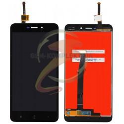 Дисплей для Xiaomi Redmi 4A, черный, с сенсорным экраном, original (PRC)