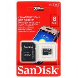 Карта памяти 8 Gb microSDHC SanDisk, class 10, UHS