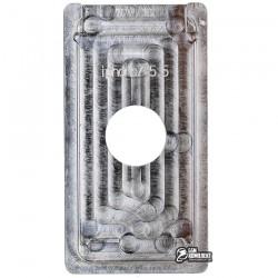 Форма для фиксации модуля при склеивании Scotle для Apple iPhone 7 Plus, алюминиевый