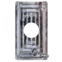 Форма для фиксации модуля при склеивании Scotle для Apple iPhone 7, алюминиевый