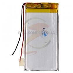 Аккумулятор универсальный (акб), для телефона, планшета, GPS, 73 мм, 39 мм, 3,6 мм, Li-ion, 3,7 В, 1100 мАч