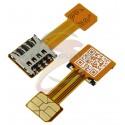 Шлейф адаптер гібридного SIM-лотка, MicroSIM