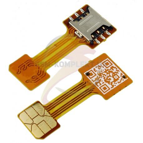 Шлейф адаптер для гибридного SIM-лотка, NanoSIM