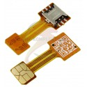 Шлейф адаптер гибридного SIM-лотка, NanoSIM