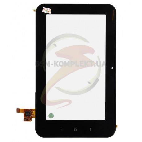 Тачскрин (сенсорный экран, сенсор) для китайского планшета 7, 12 pin, с маркировкой TOPSUN_C0021_A1, TOPSUN-C0021-A1, для Assist