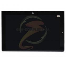 Дисплей для планшета Lenovo Yoga Tablet 2-1051 LTE, черный, с сенсорным экраном (дисплейный модуль)