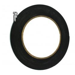 Двухсторонний скотч на вспененной основе, ширина 4мм, длина 10м, толщина 0.5 мм, черный