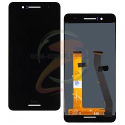 Дисплей для HTC Desire 728G Dual Sim, черный, с сенсорным экраном (дисплейный модуль)