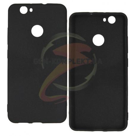 Чехол силиконовый ультратонкий для Huawei Nova, черный