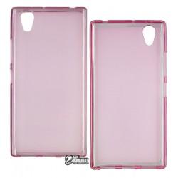 Чехол защитный для Lenovo P70, силиконовый, розовый