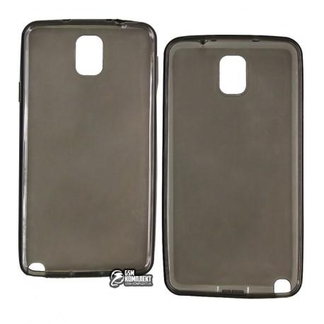 Чехол защитный для Samsung N9000/N9002 Galaxy Note 3, силиконовый, черный