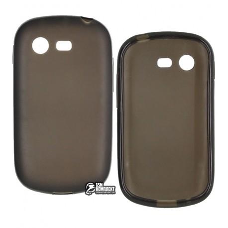Чехол защитный для Samsung S5282/S5280 Galaxy Star, силиконовый, черный