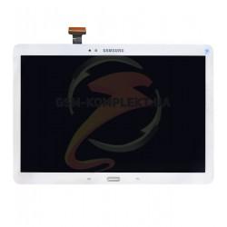 Дисплей для планшета Samsung P600 Galaxy Note 10.1, P601 Galaxy Note 10.1, P605, белый, с сенсорным экраном (дисплейный модуль)